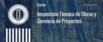 Curso de Inspección Técnica de Obras y Gerencia de Proyectos comienza en Octubre