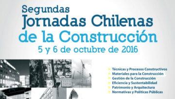 Segundas Jornadas Chilenas de la Construcción