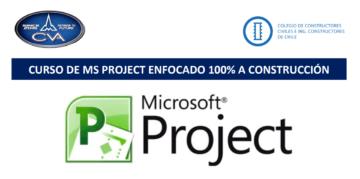 Curso MS Project enfocado 100% en construcción